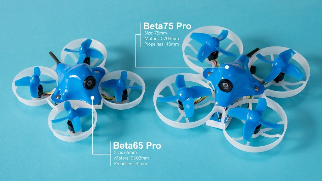 Beta75 Pro 1S Brushless BNF Whoop Quadcopter
